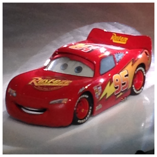Disney On Ice Worlds of Fantasy Boys Lightening McQueen