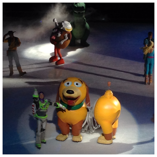 Disney On Ice Worlds of Fantasy Boys TS characters
