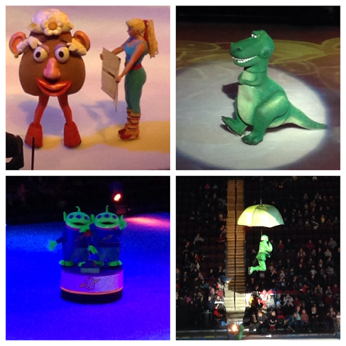 Disney On Ice Worlds of Fantasy Boys Toy Story