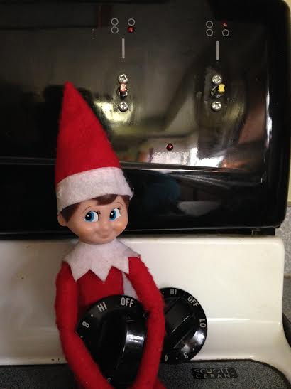 Kitchen Mischief Elf on the Shelf