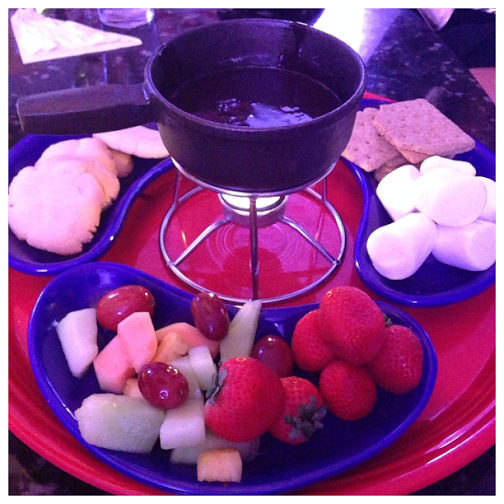 john carver inn waterfire tavern chocolate fondue