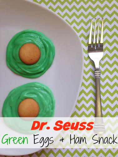 Dr Seuss Green Eggs and Ham Dessert Recipe