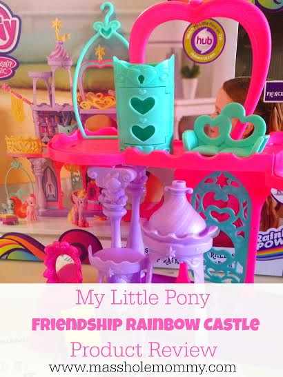 Hasbro My Little Pony Friendship Rainbow Castle Play Set