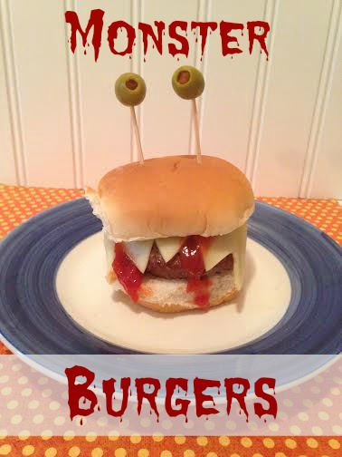 Monster Burger Fun Kids Meal