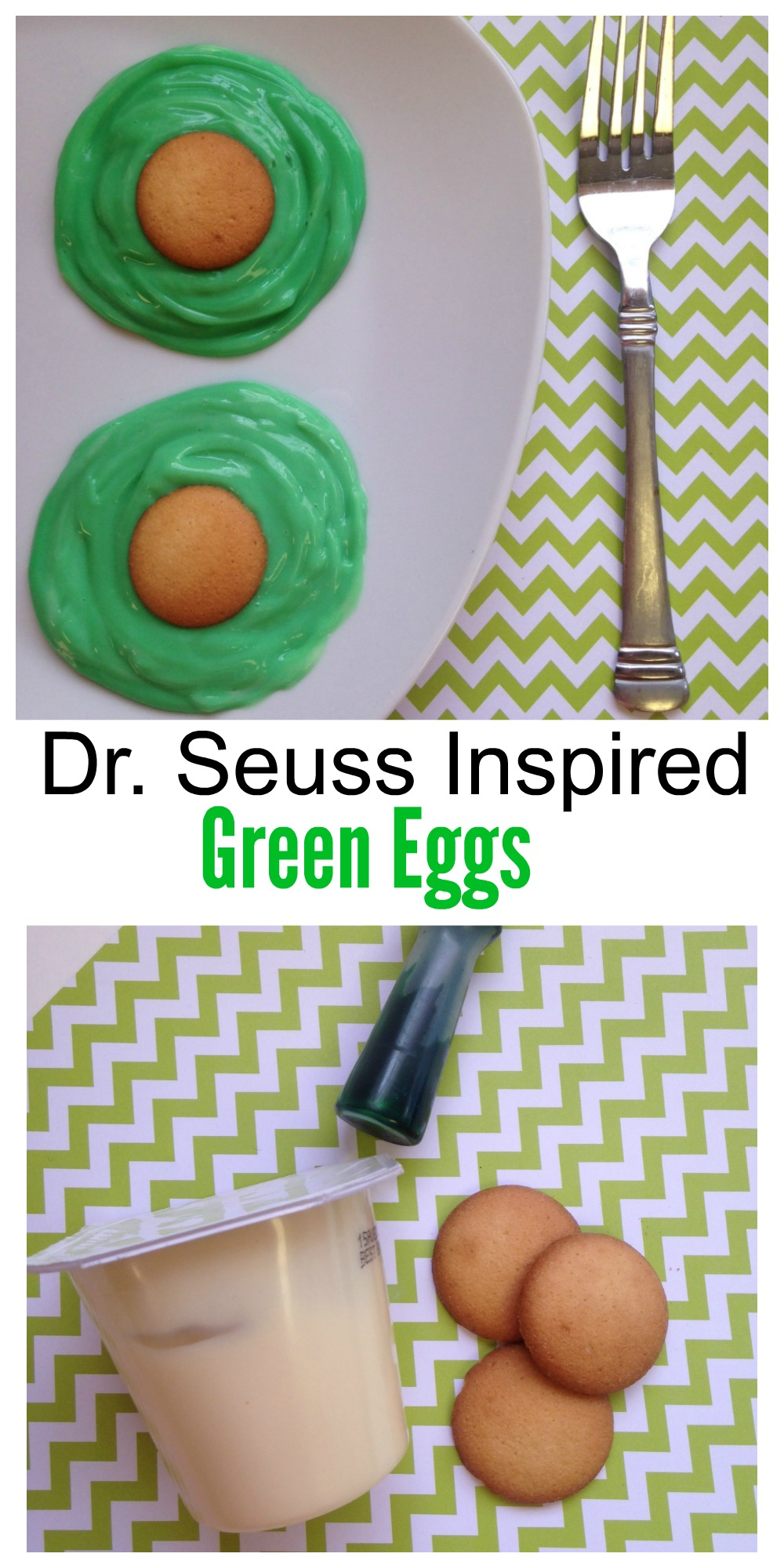 The book Green Eggs and Ham is no doubt a favorite amongst children, which is why this Dr. Seuss Green Eggs snack is sure to be a hit in your house.