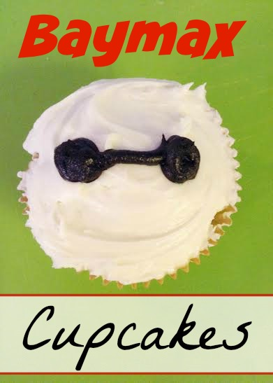 Big Hero 6 Cupcakes Baymax Recipe