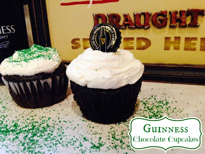 Guinness Chocolate Cupcakes The Perfect St. Patrick's Day Treat