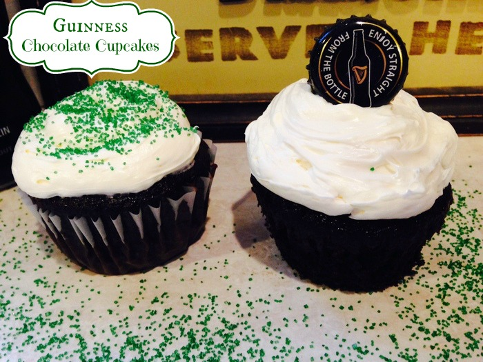 Guinness Chocolate Cupcakes The Perfect St. Patrick's Day Treat1