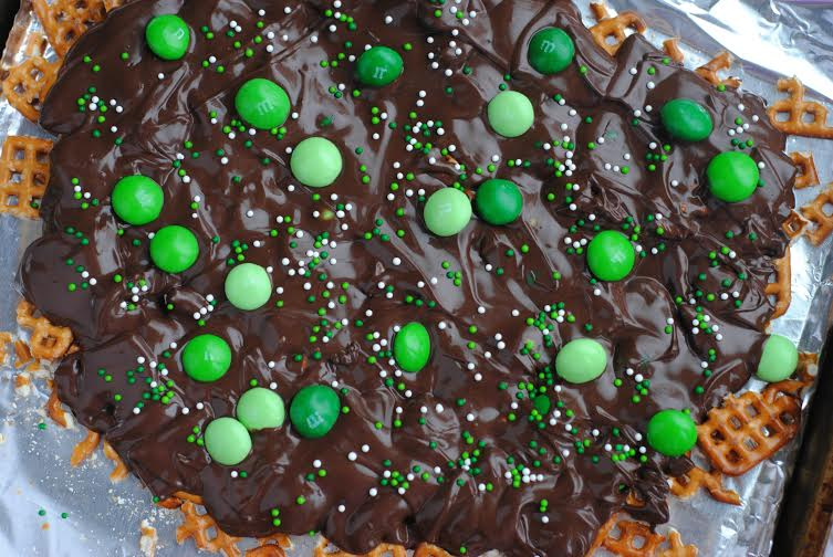 Mint M&M Bark1