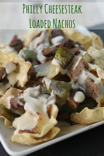 Philly Cheese Steak Loaded Nachos
