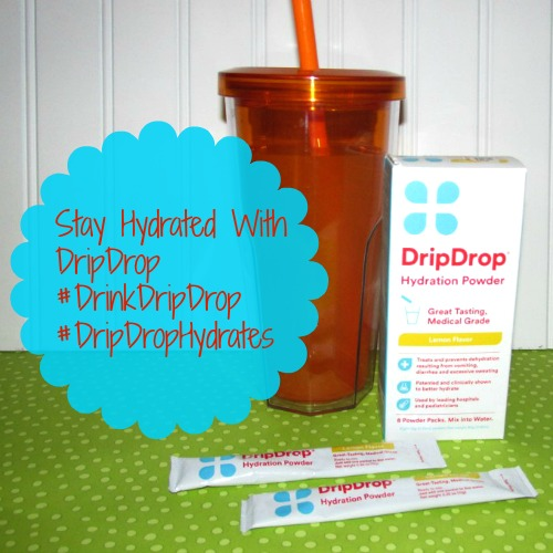 Stay Hydrated With DripDrop
