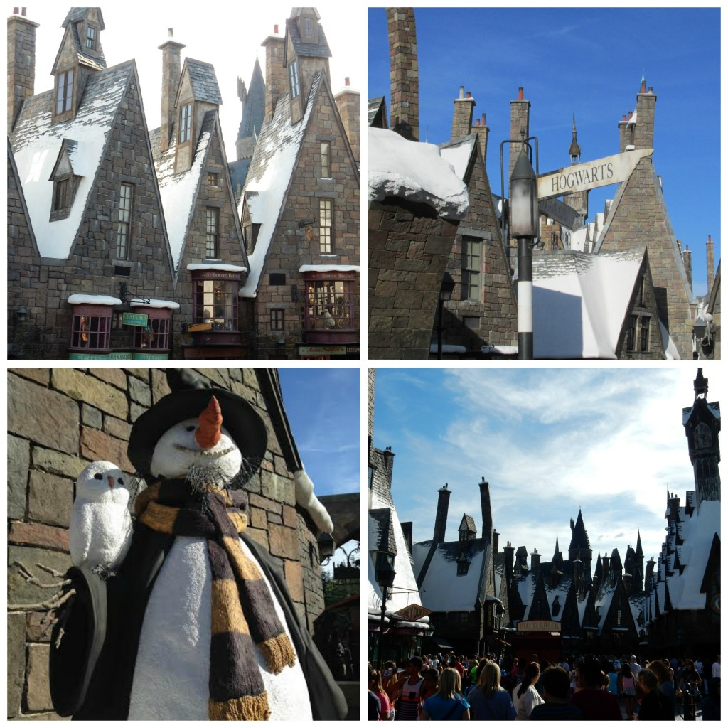 Hogsmeade collage