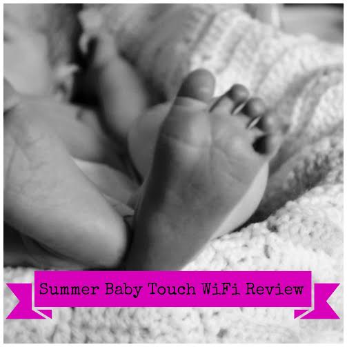 Summer Baby Touch WiFi Monitor