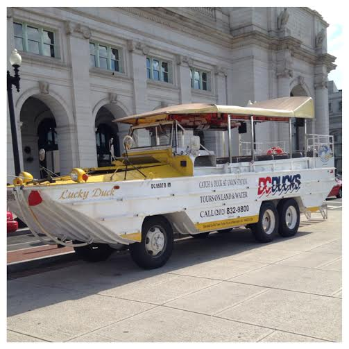 DC Duck Tours Boat