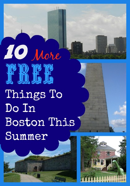 10 More Free Things To Do In Boston This Summer