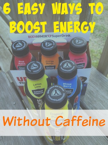 6 Easy Ways To Boost Energy Without Caffeine