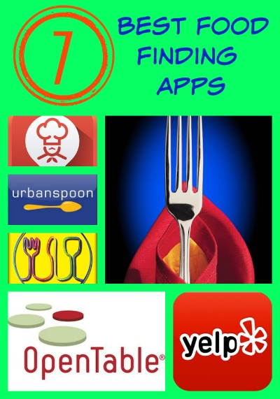 7 Best Food Finding Apps