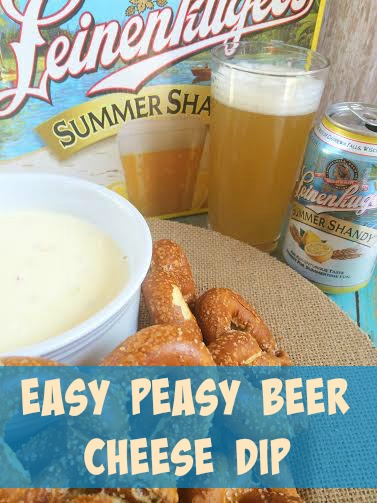 Easy Peasy Beer Cheese Dip