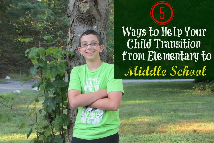 5 Ways to Help Your Child Transition from Elementary to Middle School