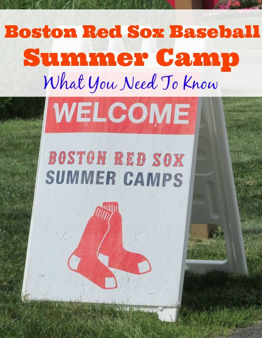 Boston Red Sox Baseball Summer Camp