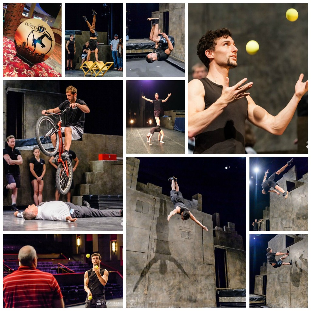 Cirque Eloize collage