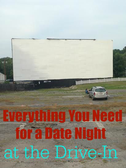 Everything You Need for a Date Night at the Drive-In