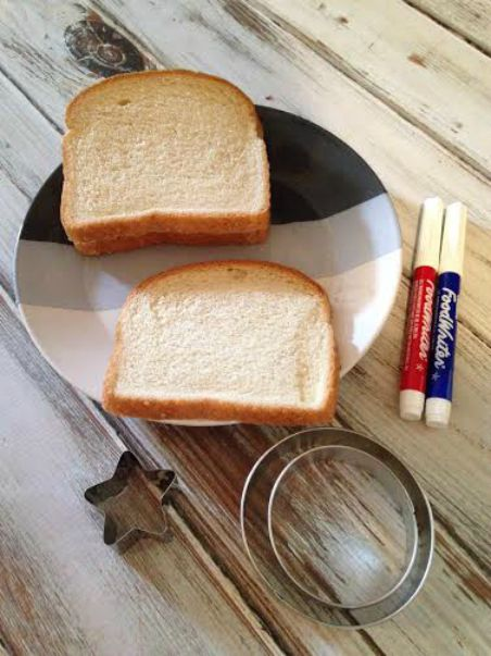 Captain America Sheild Sandwich Supplies