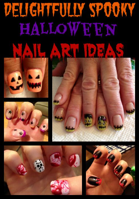 Delightfully Spooky Halloween Nail Art Ideas
