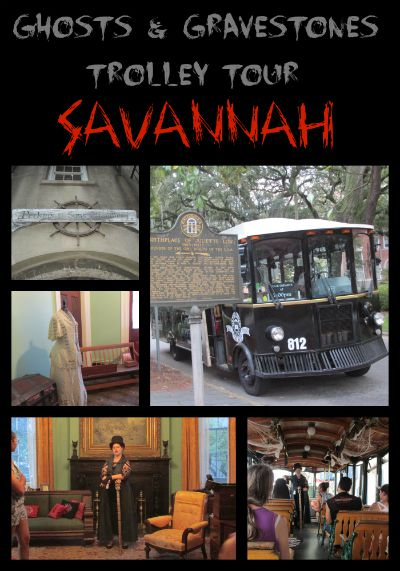 Ghosts & Gravestones Trolley Tour Savannah
