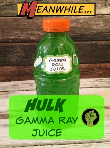 Hulk Gamma Ray Juice