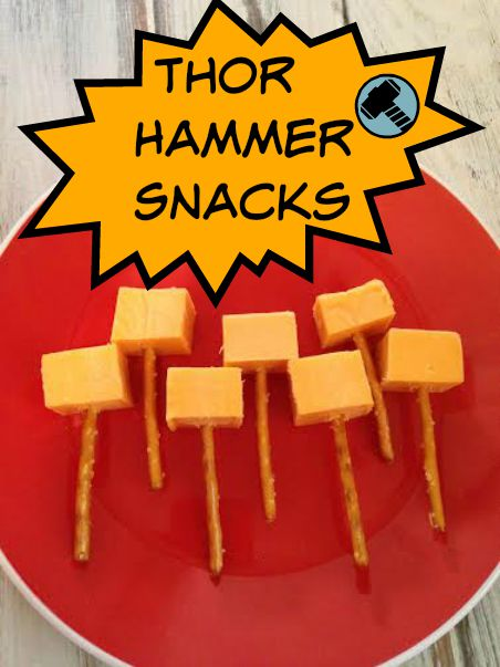 Thor Hammer Snack Idea