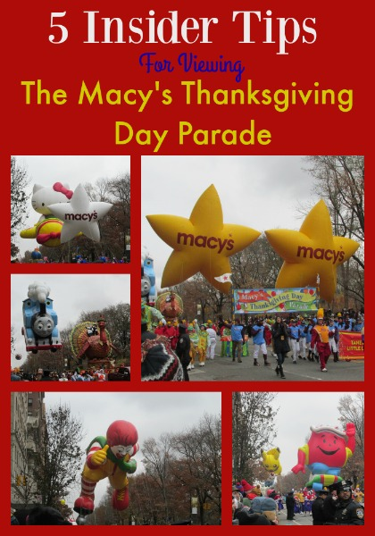 5 Insider Tips For Viewing the Macy's Thanksgiving Day Parade 1