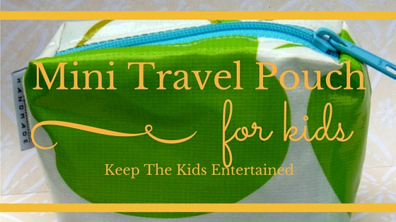 Mini Travel Pouch For Kids