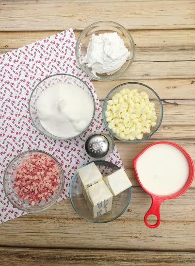 Peppermint Fudge Ingredients