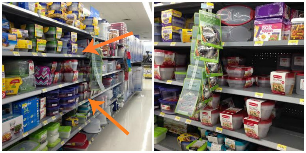 Rubbermaid TakeAlongs at Walmart