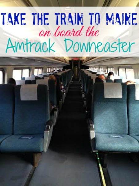Take the Train to Maine on board the Amtrack Downeaster