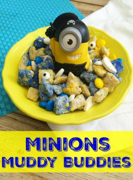 Minions Muddy Buddies