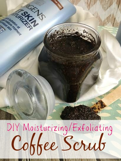 DIY Moisturizing Exfoliating Coffee Scrub