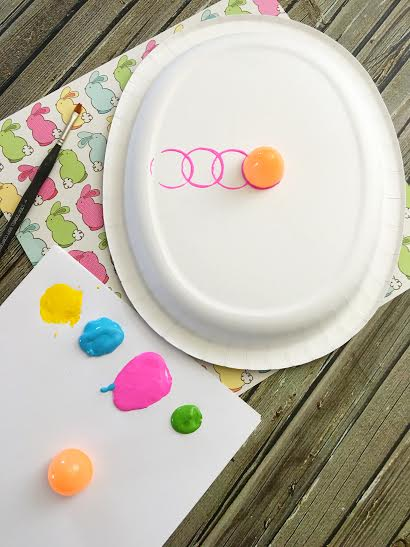 Paper Plate Easter Egg Craft2