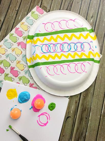 Paper Plate Easter Egg Craft4