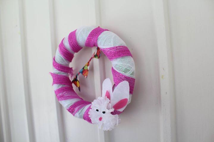 Easter Bunny Wreath7