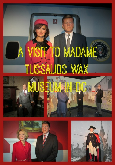 A Visit to Madame Tussauds Wax Museum in DC