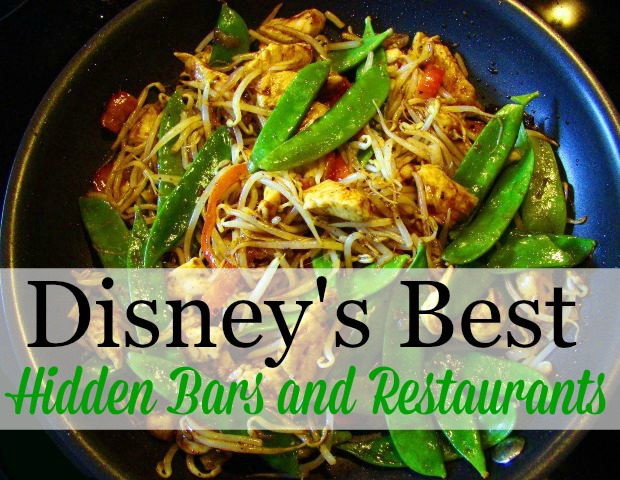Disney's Best Hidden Bars and Restaurants