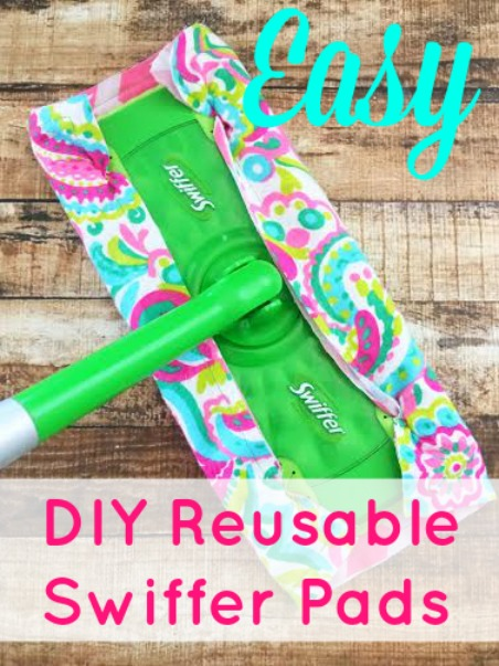 Easy DIY Resuable Swiffer Pads