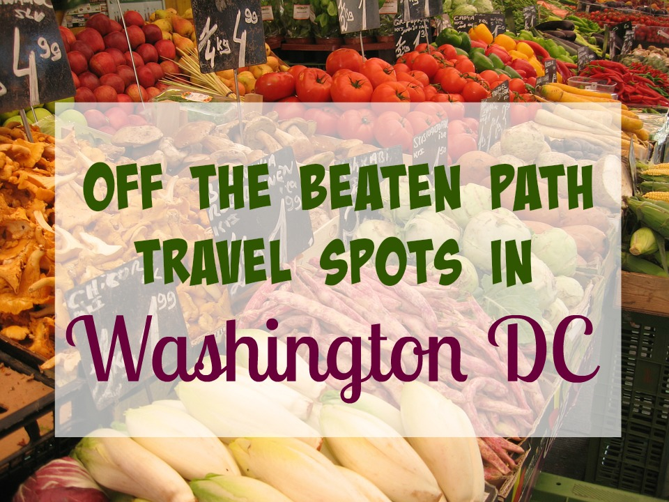 Off the Beaten Path Travel Spots in Washington DC