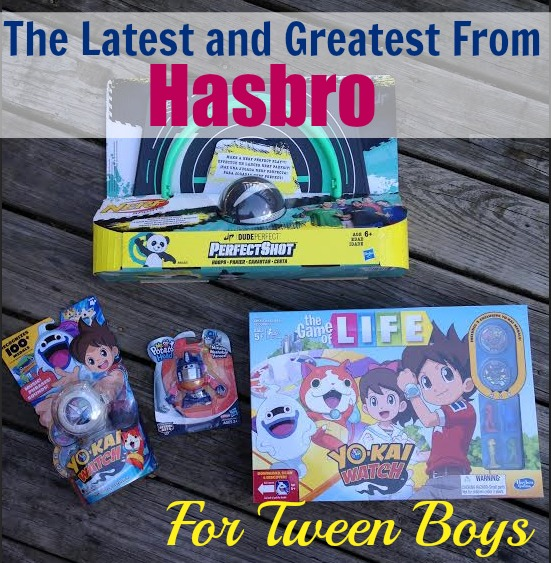 The latest and greastest from Hasbro for Tween Boys