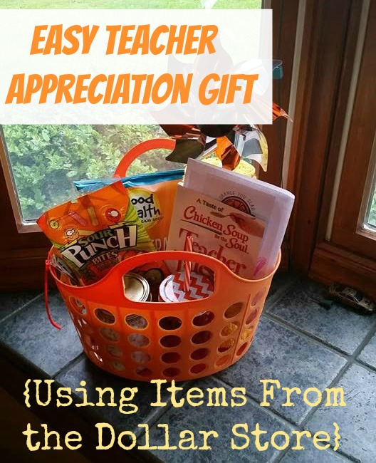 Easy Teacher Appreciation Gift