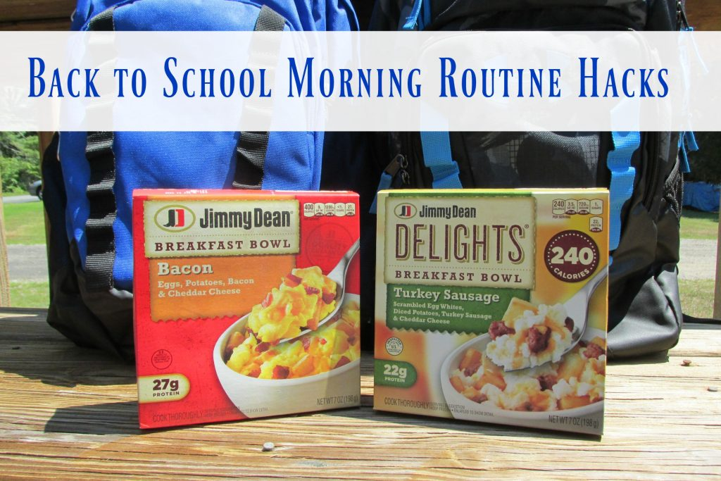 Back to School Morning Routine Hacks