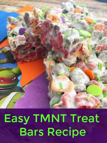 TMNT Treat Bars Recipe
