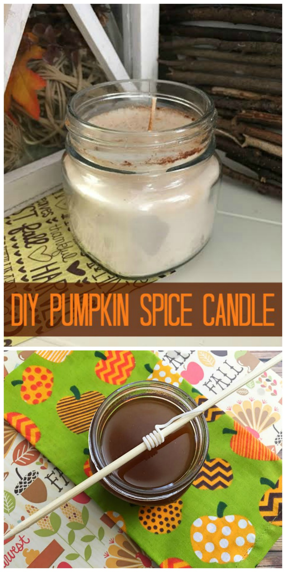 aking your own candles is easier than you think and you only need a few materials to. If you are a candle lover, try this easy DIY Pumpkin Spice Candle.